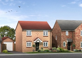 Caythorpe houses